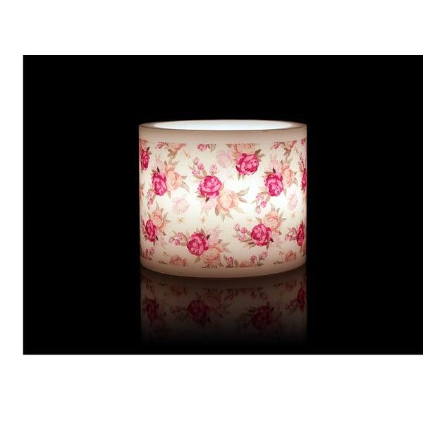 Kruhový svícen na čajovou svíčku Rose