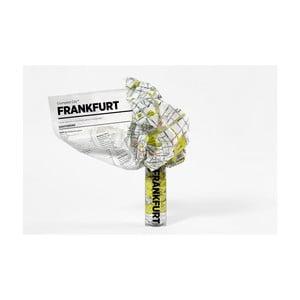 Zmačkaná cestovní mapa Palomar Frankfurt