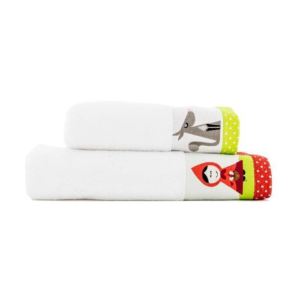 Sada 2 ručníků Mr. Fox Pathway, 50x100 cm a 70x140 cm