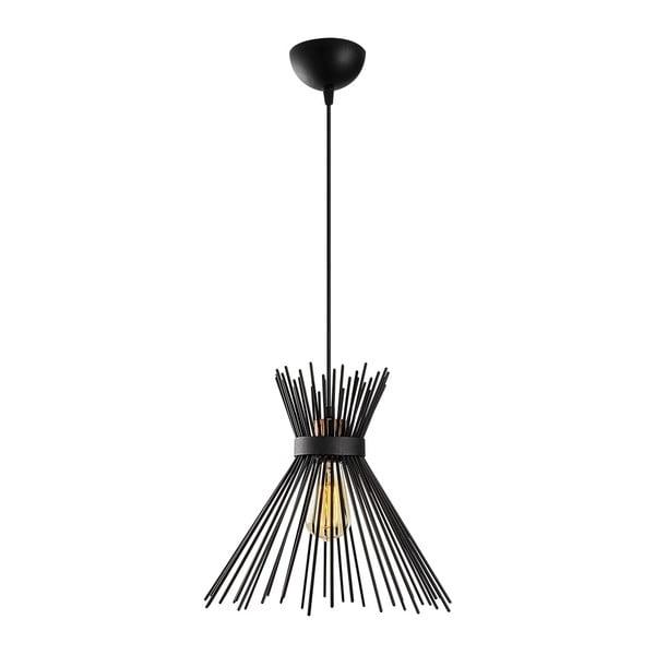 Rosalia fekete fém függőlámpa - Opviq lights