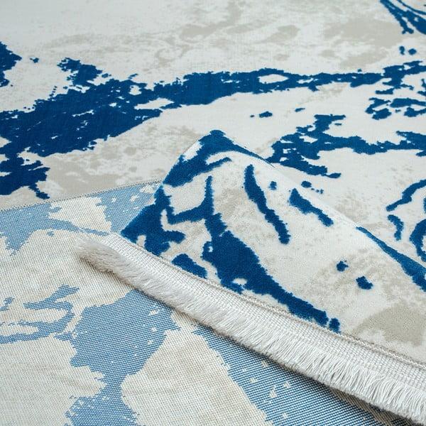 Běhoun Extravagante Azul, 80 x 300 cm