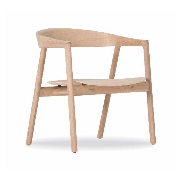Krzesło do jadalni z drewna dębowego Gazzda Muna