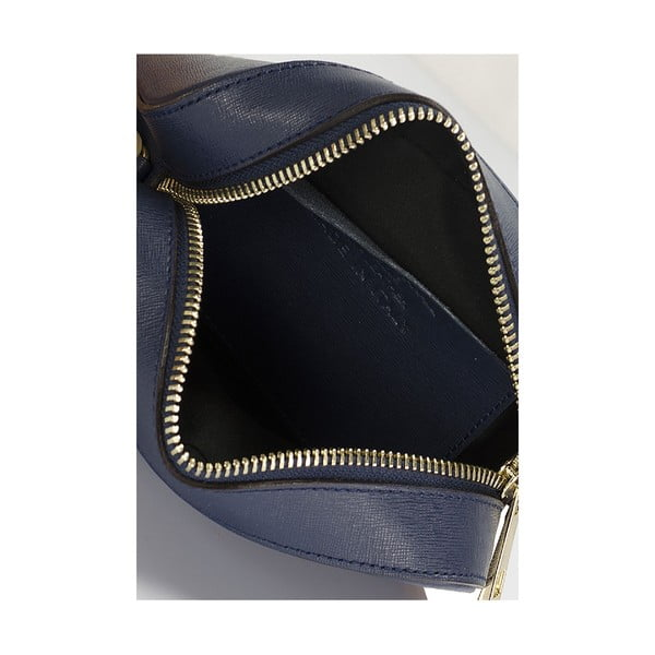 Kožená kabelka Giorgio Costa 15010 Blue