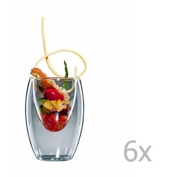 Sada 6 středních skleniček bloomix Ovo