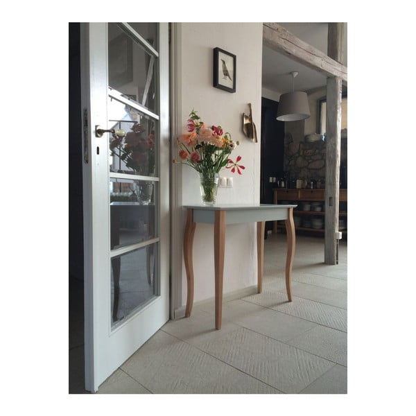 Tmavě šedý odkládací konzolový stolek Ragaba Dressing Table 105x74cm