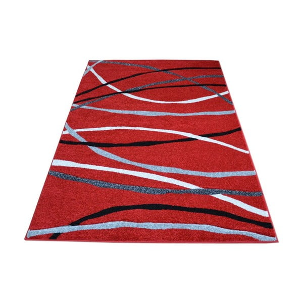 Koberec Webtappeti Intarsio Red, 140x200 cm