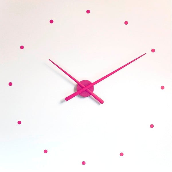 Hodiny Oj Mini 50 cm, lila