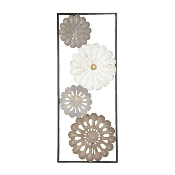 Železná nástěnná dekorace Clayre&Eef Gerbera