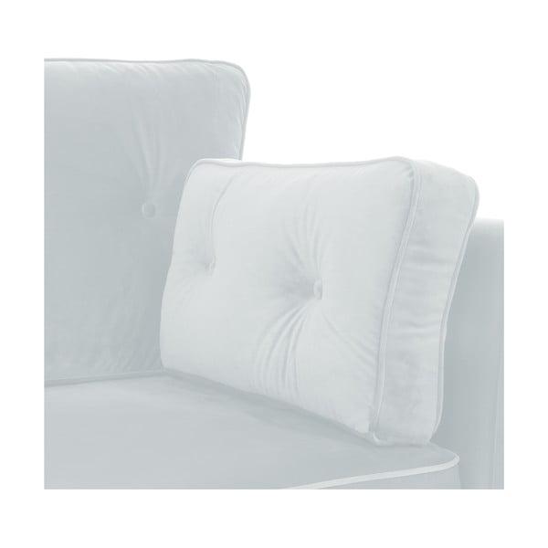 Canapea 2 locuri Vivonita Portobello, gri albăstrui