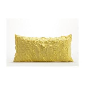 Žlutý povlak na polštář Mikabarr Amit, 60 x 30 cm