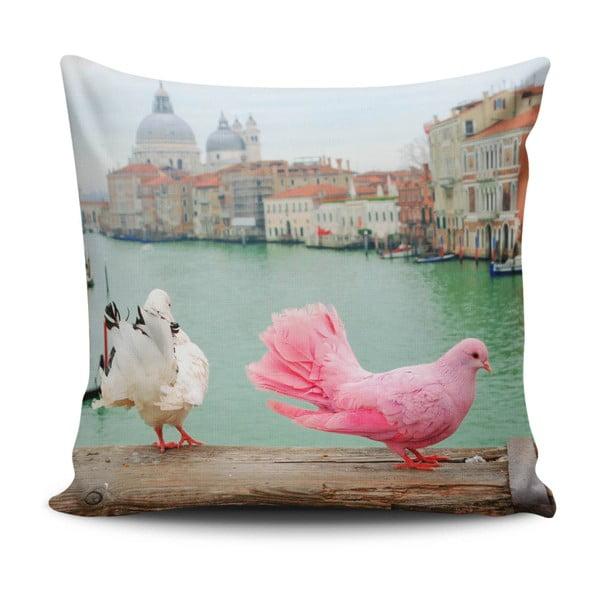 Pernă cu adaos de bumbac Cushion Love Herisso, 45 x 45 cm
