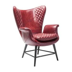 Fotoliu Kare Design Velvet, roșu