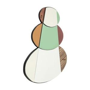 Nástěnné zrcadlo Kare Design Metamorphosis Circles, 107x15cm