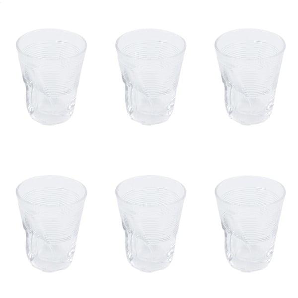 Sada 6 sklenic Kaleidos 360 ml, čistá