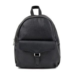 Černý kožený batoh Isabella Rhea Mille
