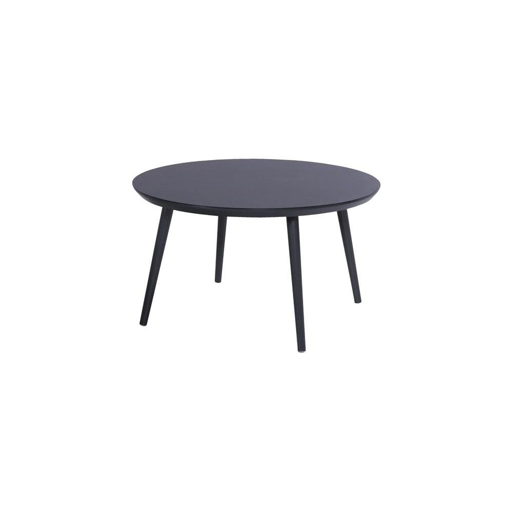 Černý zahradní stůl Hartman Sophie Studio, ø 128 cm