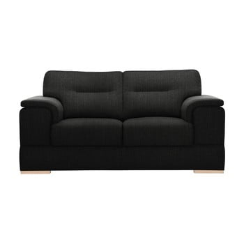 Canapea pentru 2 persoane Stella Cadente Madeiro negru
