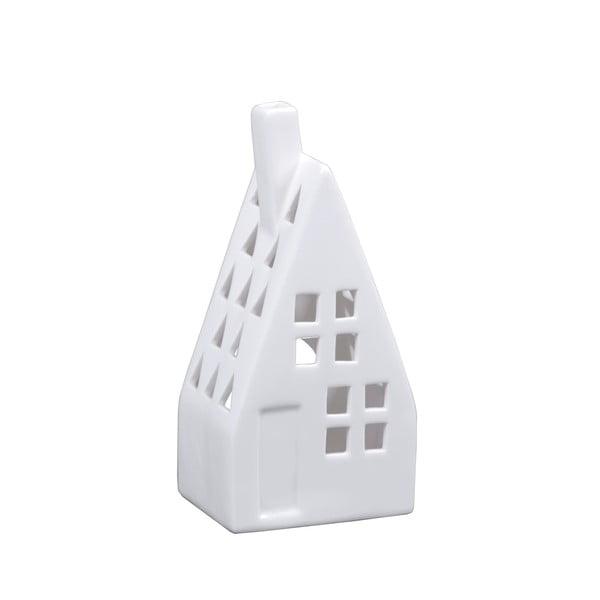 Sfeșnic din porțelan în formă de casă Ego Dekor