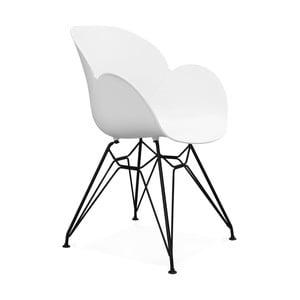 Bílá jídelní židle Kokoon Umela