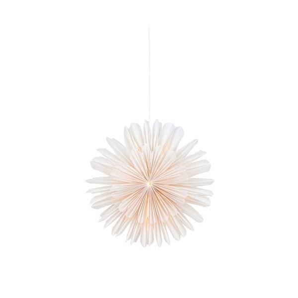 Lisa fehér függő dekorációs világítás, ø 46 cm - Markslöjd