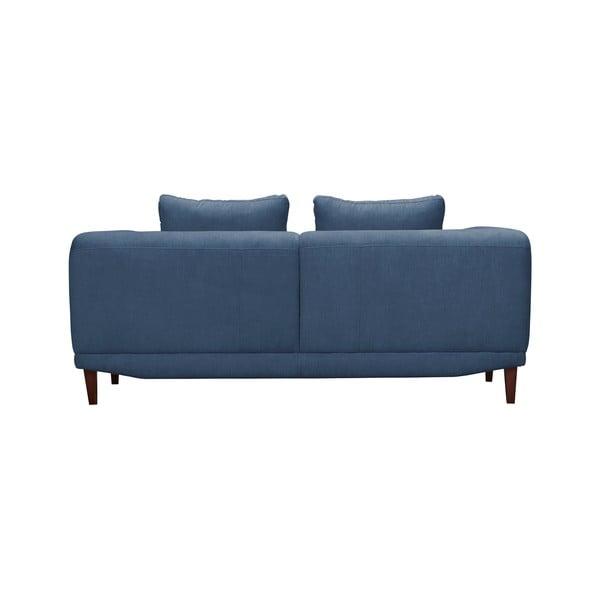 Modrá dvojmístná pohovka Windsor & Co Sofas Sigma