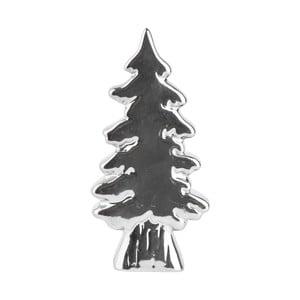 Dekorativní vánoční stromek 16 cm, stříbrný