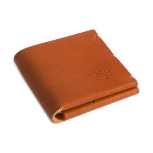 Koňaková kožená peněženka Woox Maturus Dilutus
