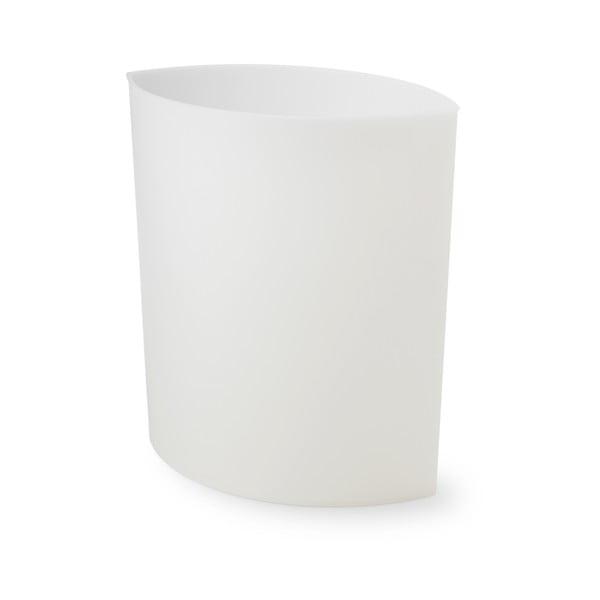 Odpadkový koš Maxi Lip, bílý