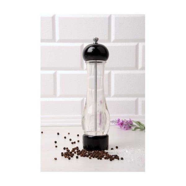 Černý mlýnek na koření SpiceItUp