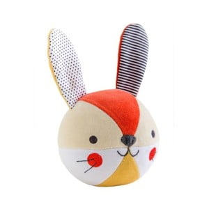 Hračka s malým zvonkem Petit collage Bunny