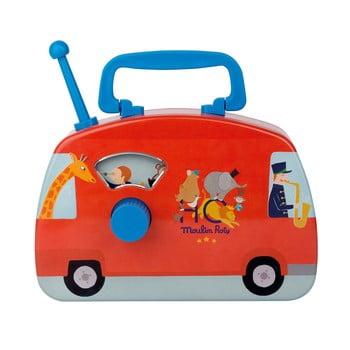 Autobuz muzical pentru copii Moulin Roty poza