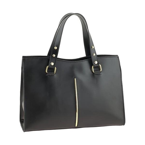 Černá kožená kabelka Ore Diece Frosinone