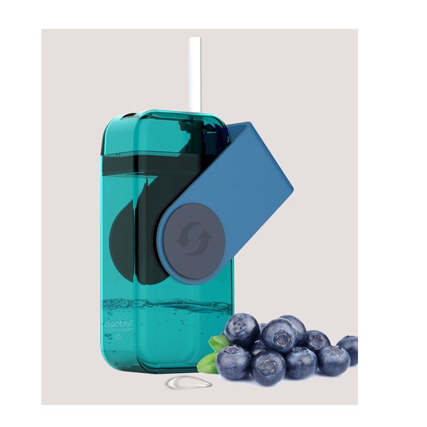 Vysoce odolná lahev na džus Juicy Drink, modrá