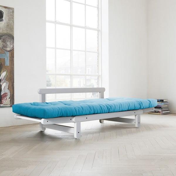 Canapea extensibilă Karup Beat White/Horizon Blue