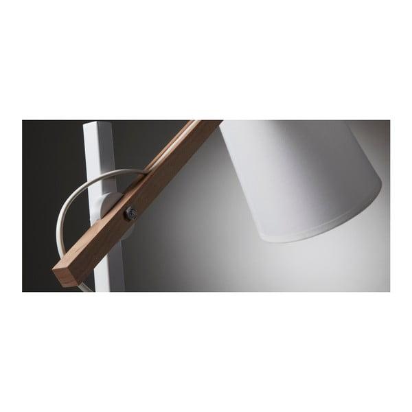 Bílá stolní lampa La Forma Jovik