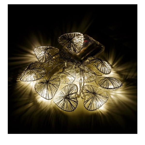 Ghirlandă cu lumini  Unimasa Pattern Heart, 10 LED beculețe