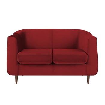 Canapea cu 2 locuri Kooko Home GLAM, roșu de la Kooko Home