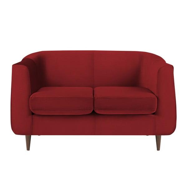 Canapea cu 2 locuri Kooko Home GLAM, roșu