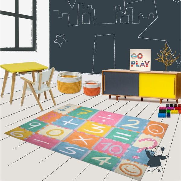 Dětský koberec Marelle Maths, 130x160 cm