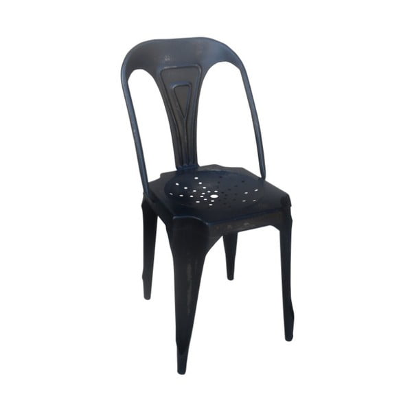 Kovová židle Chaise Black