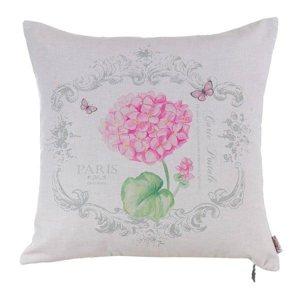 Polštář s náplní Pink Hortensia