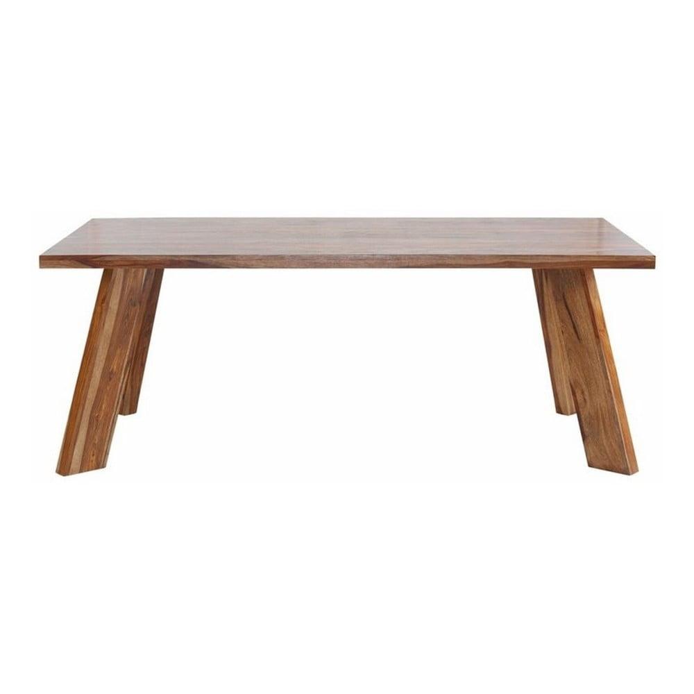 Jídelní stůl ze dřeva sheesham Støraa Kentucky, 100x200cm