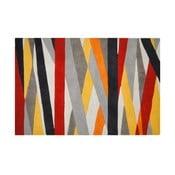Vlněný koberec Linear, 121x182 cm