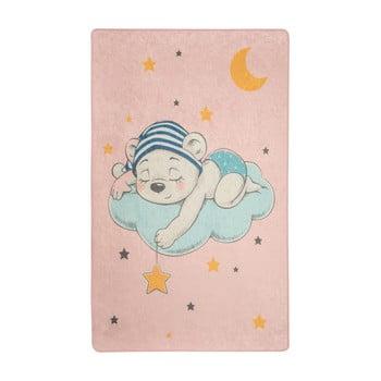 Covor copii Pink Sleep, 100 x 160 cm imagine