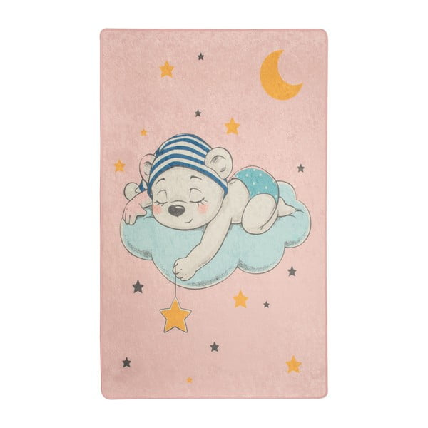 Covor copii Pink Sleep, 100 x 160 cm