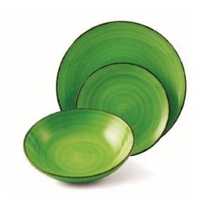 Sada velkých talířů New Baita Verde, 6 ks