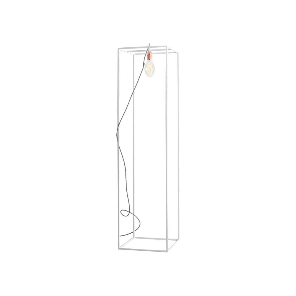 Bílá stojací lampa Custom Form Metric, šířka 35 cm