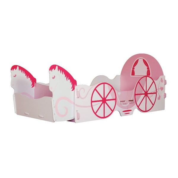 Dětská postel Princess Carriage Junior, 140x70 cm