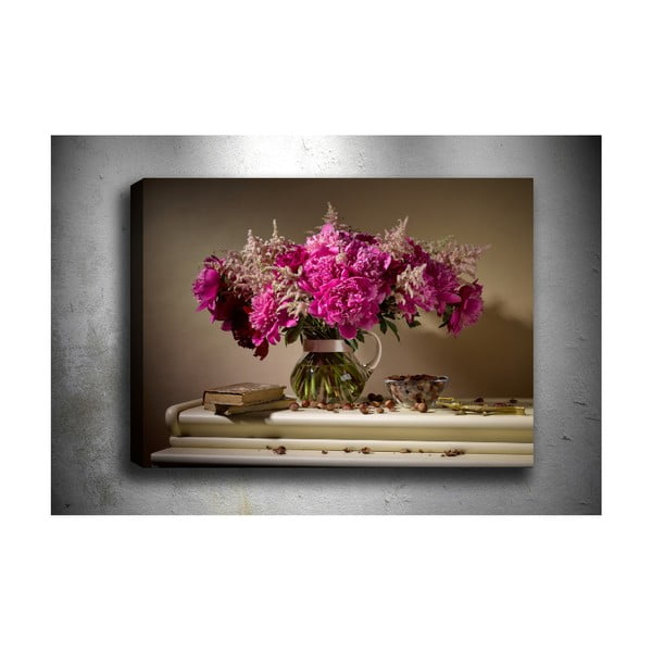 Obraz Tablo Center Fuchsia, 70 x 50 cm