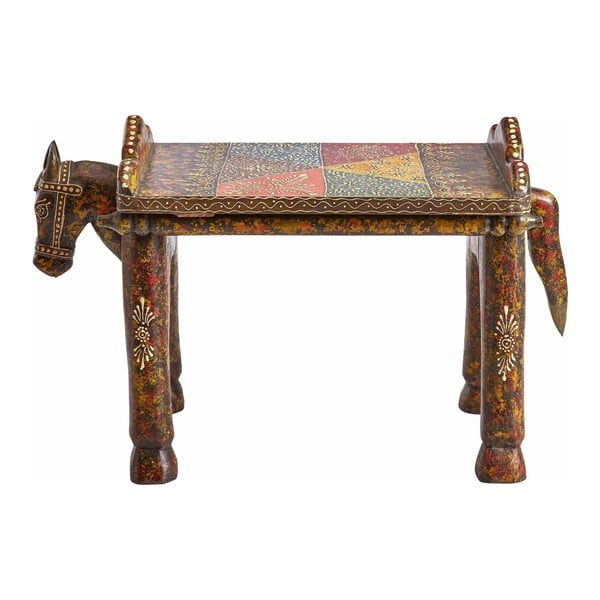 Scăunel din lemn de mango Støraa Vito